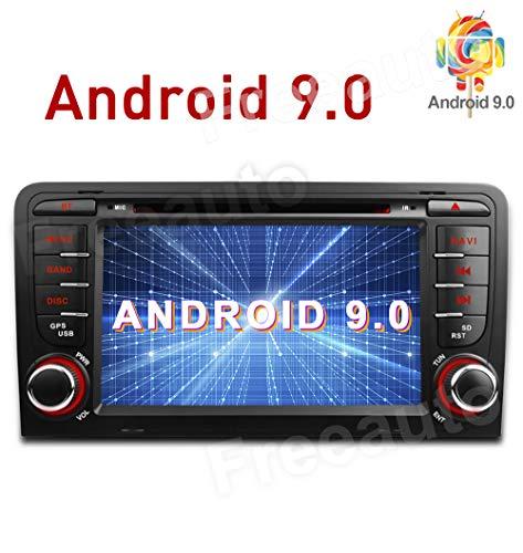 Freeauto Android 9.0 paraAudi A3/S3 Auto Radio estérea
