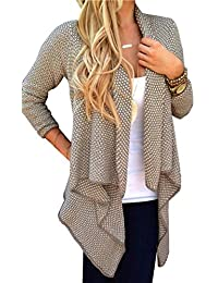 Alician Women Fashion Elegant Irregular Hem Cardigan Shawl Chic All-Match Tops Coat