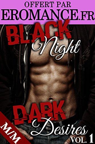 Couverture du livre Black Night, Dark Desires: Son Initiation (Vol. 1): (Roman Érotique MM, Première Fois, BDSM, Domination, Gay M/M)