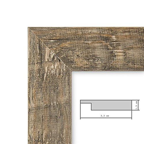 Set da 5 cornici per foto 13x18 cm sabbia rustico rovere for Cornici amazon