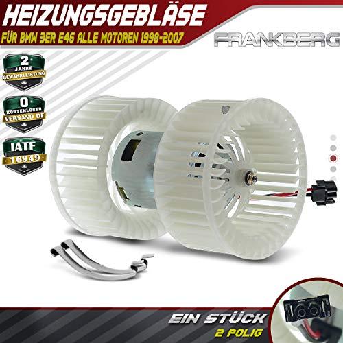 Innenraumgebläse Heizungsgebläse Motor für 3ER E46 Klimaautomatik 1998-2007 64118372797 (M3 E46 Motor)