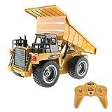 1:18 RC Muldenkipper 1540 - Baustellenfahrzeug mit Licht und Sound, Allradantrieb und umfangreichen Steuerungsmöglichkeiten - Outdoor geeignet
