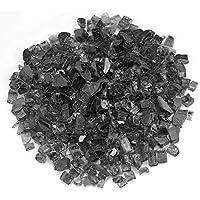 Tackjoke - Part de cristal de lava, fundido, partículas de vidrio endurecido Negro