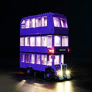 LIGHTAILING Set di Luci per (Harry Potter Nottetempo) Modello da Costruire - Kit Luce LED Compatibile con Lego 75957… 0716852281497 LEGO