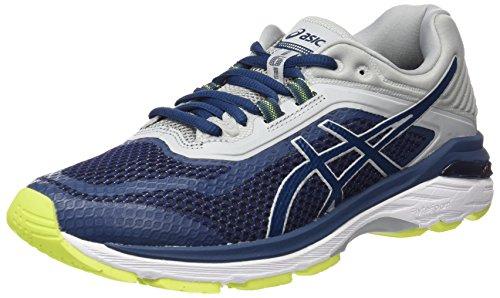 ASICS GT-2000 6, Scarpe Running Uomo, Blu Dark Blue/Mid Grey 4949, 40.5 EU