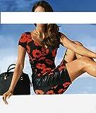 Ashley Brooke Designer-Kleid schwarz-rot Größe 36