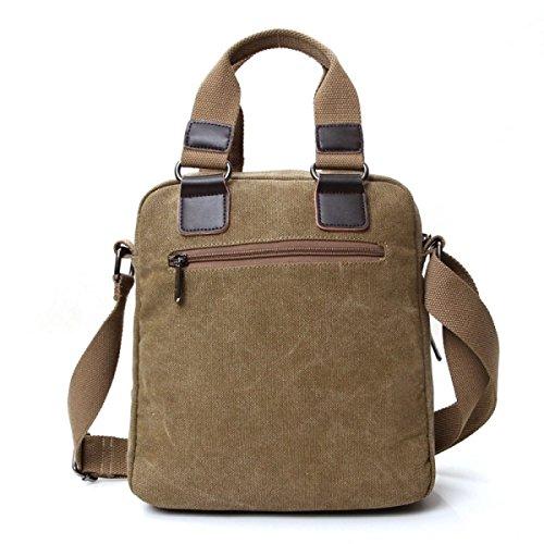Mannbeutel-Segeltuchart Und Weise Beiläufiger Beiläufiger Schulterbeutel-Kreuzbeutel-Handtaschen-Computerbeutel Blue