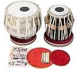 Makan 4 Kg Chromed Brass Bayan, Finest Sheesham Dayan, Tabla Drum Set Percussion...