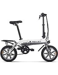 Vélo électrique Richbit pliant Vélo de ville avec 250W * 36V * 8ah longue durée Roue 35,6cm Nouvelle mise à jour