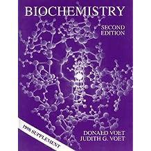 Biochemistry: 1998 Supplement by Donald Voet (1998-05-05)