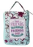 H & H Handlich Top loslegen Tasche/Shopper/Einkaufstasche–personalisierbar zum Titel von True Friends