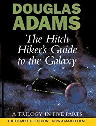 The Hitch Hiker's Guide to the Galaxy: A Trilogy in Five Parts by Douglas Adams (1995-10-16)