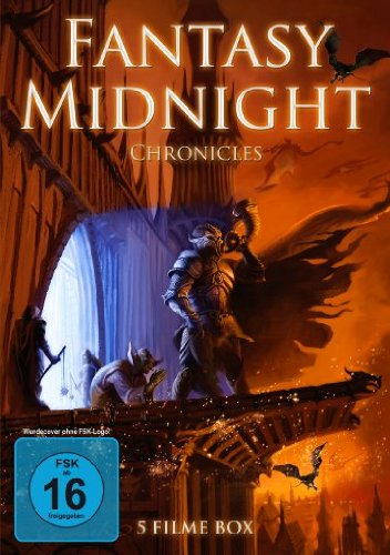 Fantasy Midnight Chronicles (Midnight Chronicles / Fire Dragon Hunter / Der Meister der Ringe / Geralt von Riva / Mystikal) [2 DVDs] [Collector's Edition] - Ring Fire-film-dvd Of