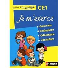 Je m'exerce grammaire-conjugaison-orthographe-vocabulaire CE1 : Fichier d'activits