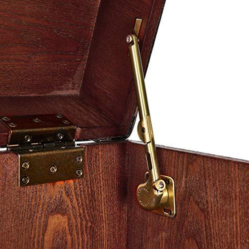 BUTLERS Hemingway Barschrank – Antike Kofferbar mit Weinregal - 7