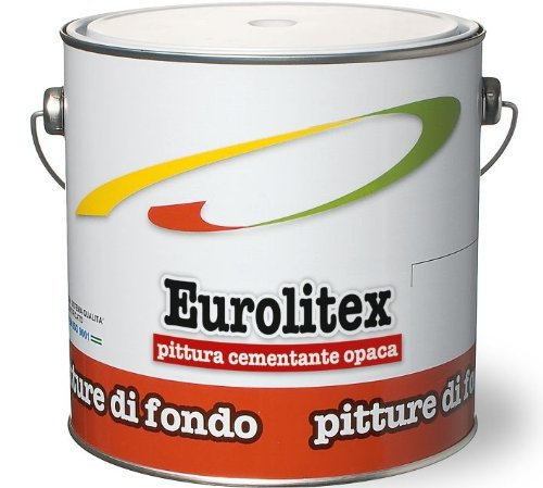 Cementite Sintetica Opaca Eurolitex Laiv colore Bianco 2,5 Lt.