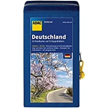 ADAC StraßenKarten Kartenset Deutschland 2018/2019 1:200.000: 20 Detailkarten auf 10 Doppelblättern (ADAC AutoKarten Deutschland 1:200 000)