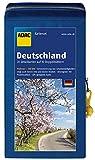 ADAC StraßenKarten Kartenset Deutschland 2018/2019 1:200.000: 20 Detailkarten auf 10 Doppelblättern (ADAC AutoKarten Deutschland 1:200 000) -
