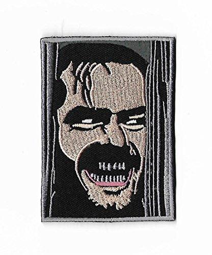 The Shining Patch Bestickt Eisen/Nähen auf Badge DIY Aufnäher Horror Film Souvenir Kostüm Jack Nicholson Here 's Johnny