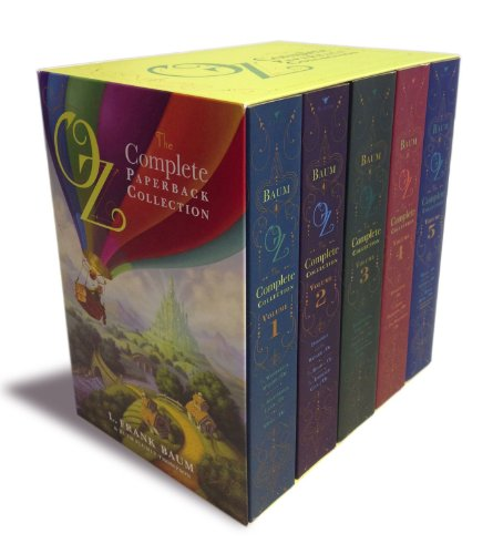 Oz, the Complete Paperback Collection: Oz, the Complete Collection, Volume 1; Oz, the Complete Collection, Volume 2; Oz, the Complete Collection, ... 4; Oz, the Complete Collection, Volume (Wizard Of Oz The Lion)