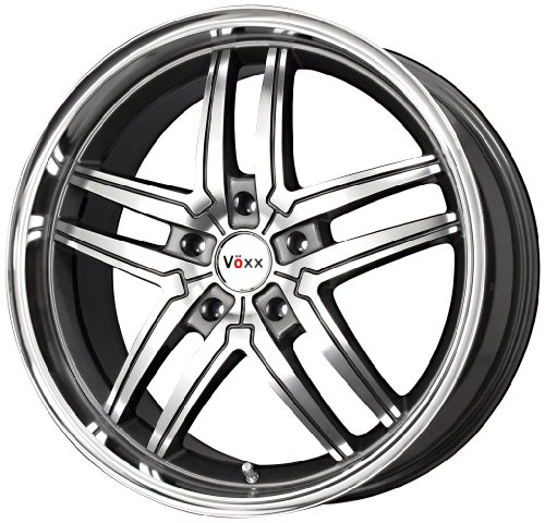 "Preisvergleich Produktbild Voxx Torino Wheel with Gunmetal Machined Face (17x8""/5x112mm)"