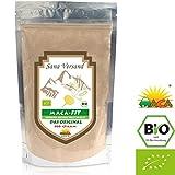 100% BIO Maca Pulver (500g) Original aus Peru. Reines Maca Wurzel Pulver enthält Vitamine, Aminosäuren und Proteine für mehr Kraft Konzentration und Energie. Ohne Zusatzstoffe dadurch vegan, organic, glutenfrei, also auch für Allergiker geeignet. Superfood aus Peru. 500 g
