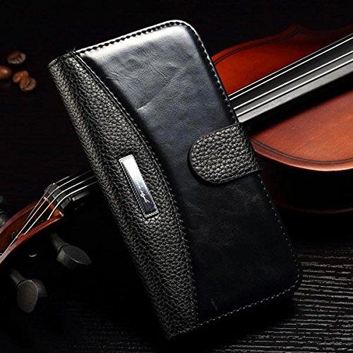 Luxury Case Pattern Wallet Archaize Grain Litchi Pour iPhone 6 rouge