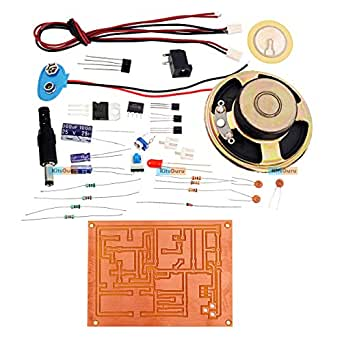 KitsGuru DIY Kit - Door Knock Electronic Bell : LGKT044 Simple