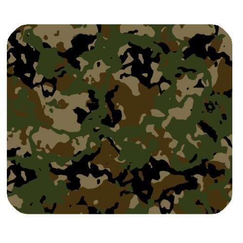 Mousepad Unique Design Mouse Pad Forests Camo Military Army Camouflage Pattern Uniform Style Gaming (Army Camouflage Pattern)