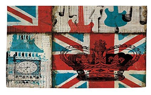 Manuelle holzverarbeiter & Weavers Dobby Bad Teppich, 2von 0,9m, British Invasion Ikonen -