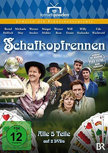 Schafkopfrennen - Der komplette Fünfteiler (Fernsehjuwelen) (Neuauflage) [2 DVDs]