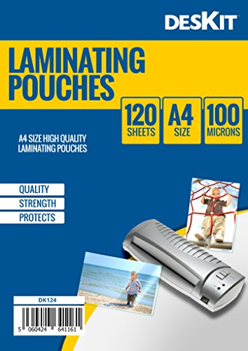 deskit-pack-of-120-laminating-pouches-a4-size-100-microns-120-pack