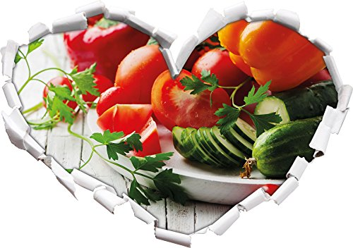 cibo insalata di verdure frutta cetriolo pomodoro