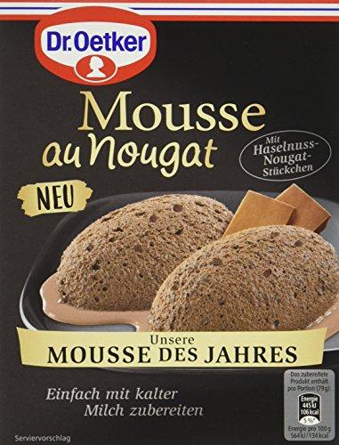 Dr. Oetker Mousse au Nougat des Jahres, 8er Pack (8 x 69 g)