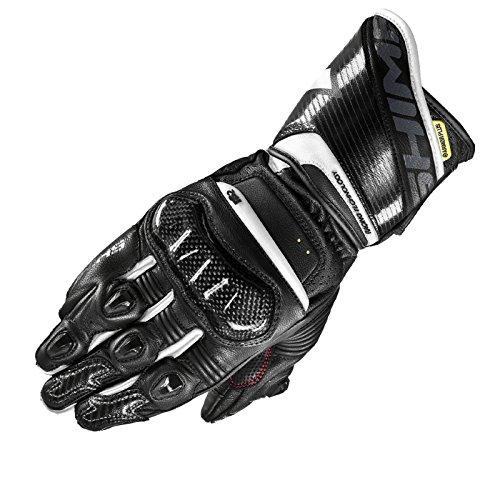 Shima RS-2 Guantes de verano, piel, deportes de carreras, Hombre, verano 2018, Moto, con marca CE, con protectores para moto (S-XXL)