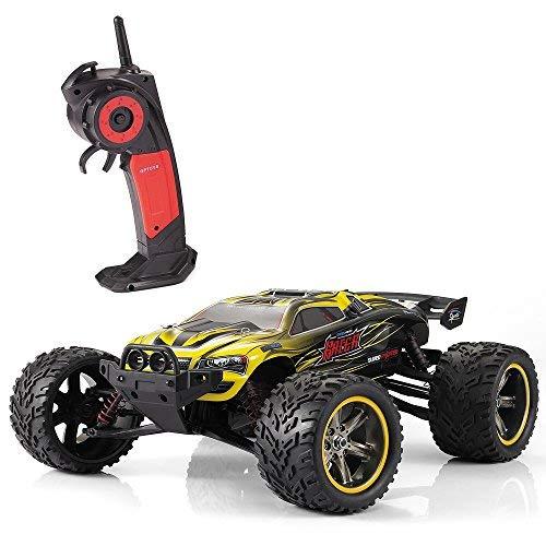 GP TOYS RC Autos 1/12 Luctan Ferngesteuertes Fahrzeug 2WD 2.4 GHz Halb-wasserdicht Monstertruck Truggy ---beste Geburtstag Geschenk für Kinder (Die Dritten Generation) (Gelb)*