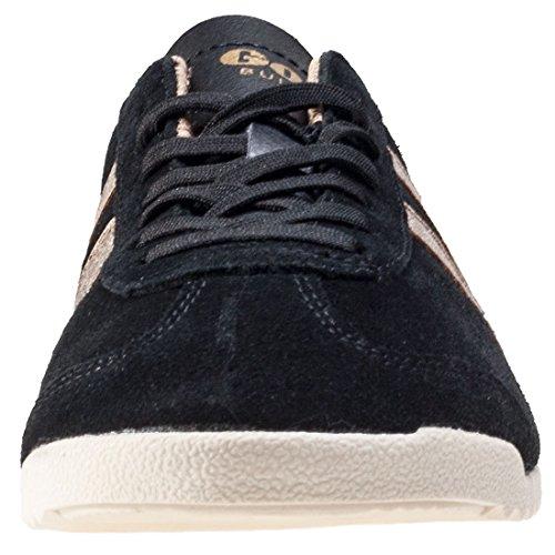 Baskets fille - GOLA - Noir - Millim Black Gold