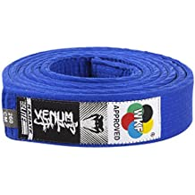 Venum Karate Belt - Cinturón de karate, color azul, 300 cm