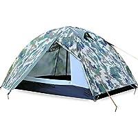 Doppel-Außenetagen regen Zelt Jahreszeiten ultraleichtes Feldausrüstung Multiplayer Strand Camping Zelt Modelle