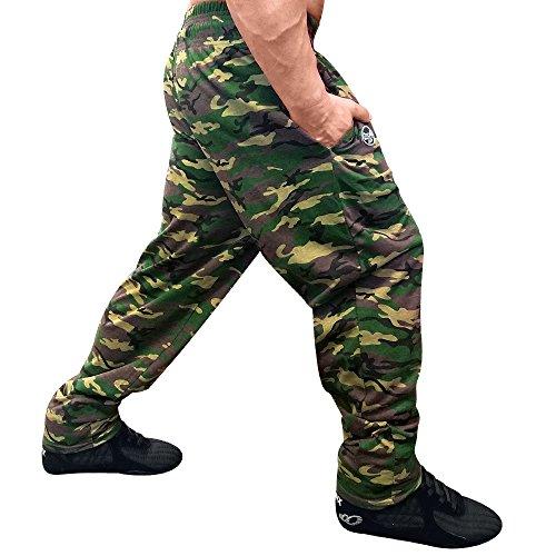 OTOMIX Baggy Gym Pants Green CAMO SMALL Otomix Baggy Pants