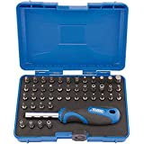 Draper 82399 Security Screwdriver Bit and Driver Set (45 Piece) Black and Silver