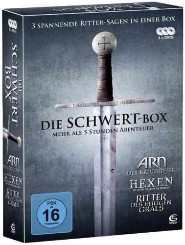 Die Schwert-Box: ARN - Der Kreuzritter: Hexen - Die letzte Schlacht der Templer, Ritter des heiligen Grals (3 DVDs)