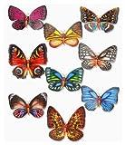 3 D Sticker XXL Schmetterlinge II, 30 x 30 cm