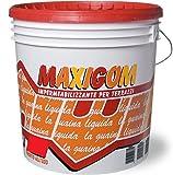 Guaina Liquida Impermeabilizzante Maxigom Laiv colore Bianco 4 Lt. Calpestabile