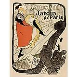 GARDENS PARIS JANE AVRIL TOULOUSE- LAUTREC FRANCE VINTAGE AFICHE CARTEL IMPRIMIR POSTER ART PRINT 12x16 inch 30x40cm 924PY