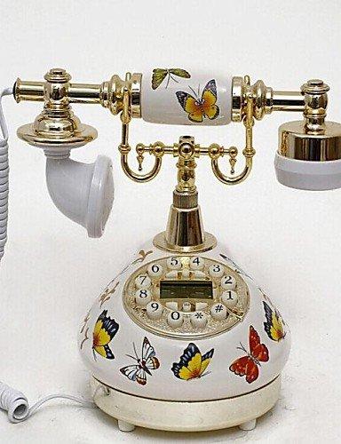 Beauts farfalla stile retrò in ceramica Home Decor telefono con