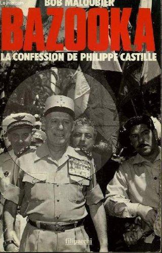 Bazooka - la confession de philippe castille Pdf - ePub - Audiolivre Telecharger