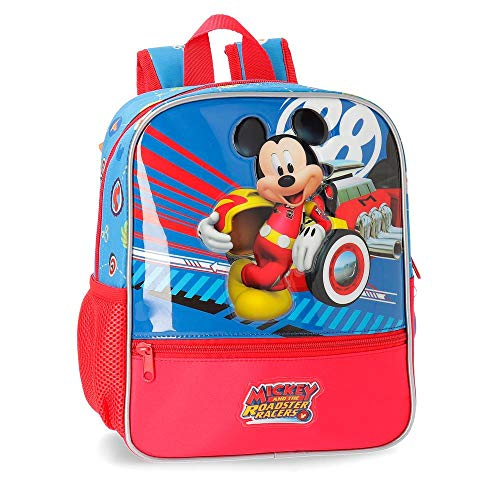 Disney World Mickey Zainetto per bambini 28 centimeters 6.44 Multicolore (Multicolor)