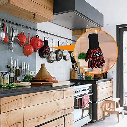 Zoom IMG-3 wotek guanti da forno barbecue