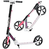 Apollo XXL Wheel Scooter 200 mm - Phantom Pro is a Luxury City Scooter, City Scooter Foldable and Height-Adjustable, Kickscooter for Adults and Children